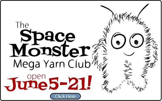 The SpaceMonster Mega Yarn Club is open until June 21
