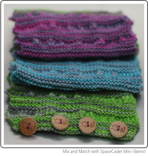 Mix and Match with SpaceCadet Mini-Skeins!
