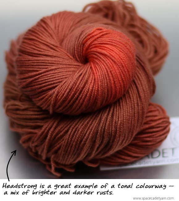 Headstrong -- a great tonal colourway