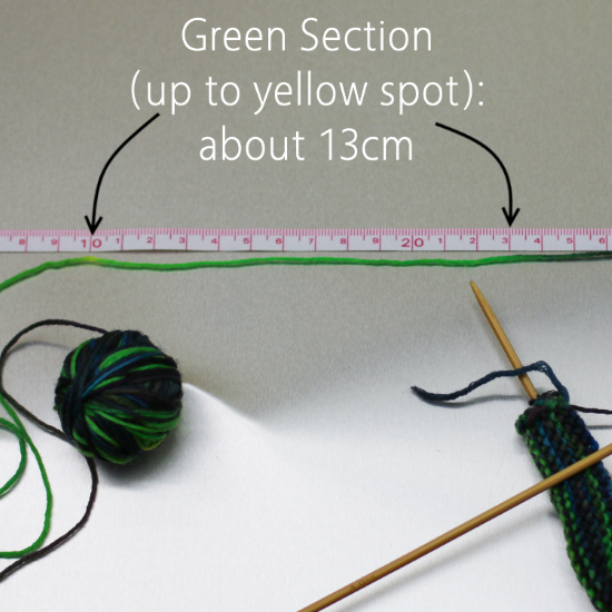 How to Read Your Hand-Dyed Yarn: The Rule of Thirds