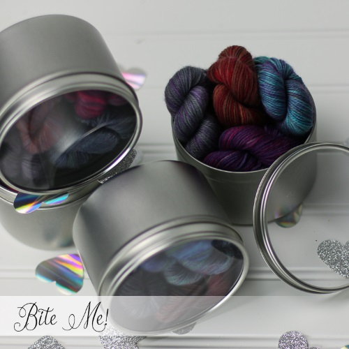 Valentine's Day Yarn: the SpaceCadet's Valentine's Day Mini-Skein Collections