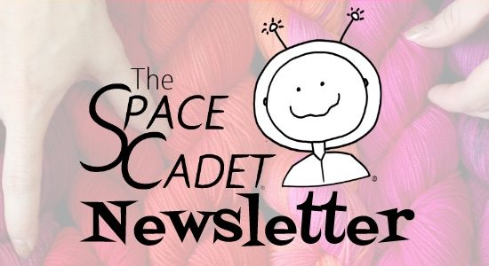 SpaceCadet Newsletter: 3 Amazing Patterns, a Giveaway, and Awesome Fiber News