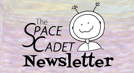 SpaceCadet Newsletter: Three Patterns for a Knitter in Need
