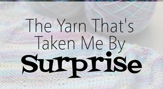 The Yarn that's Taken Me by Surprise