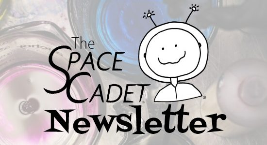 SpaceCadet Newsletter: a Fab Giveaway, Great Gradient Ideas