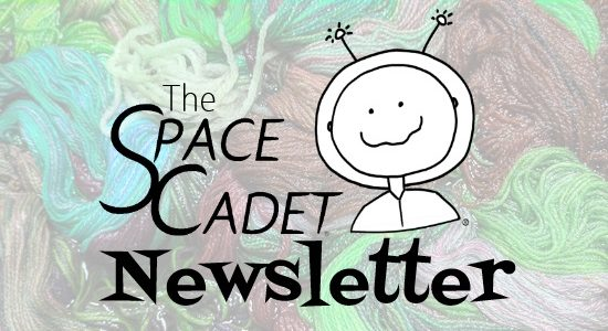 SpaceCadet Newsletter: My Thanksgiving and Lots of Fiber Fun