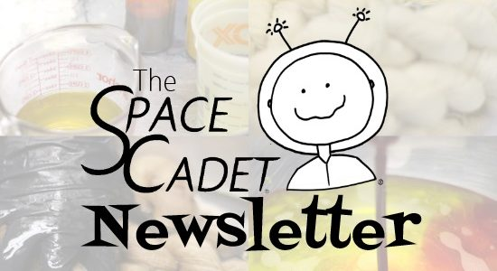 SpaceCadet Newsletter: Taking Time to Play in the Studio