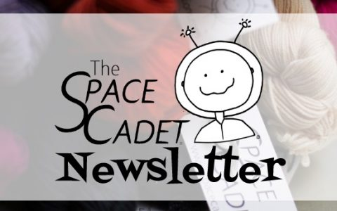 SpaceCadet Newsletter: A Mold-Inspired Colourway (really!)