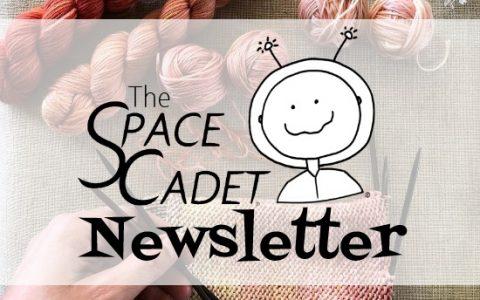 SpaceCadet Newsletter: Knitters on an Adventure!