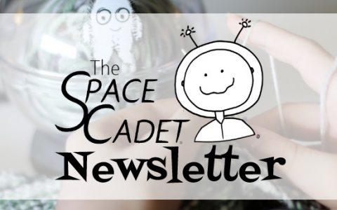 SpaceCadet Newsletter: A Little Good Luck!