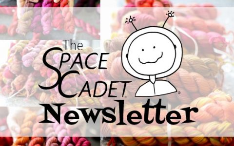 SpaceCadet Newsletter: Dyeing for a Special Event!