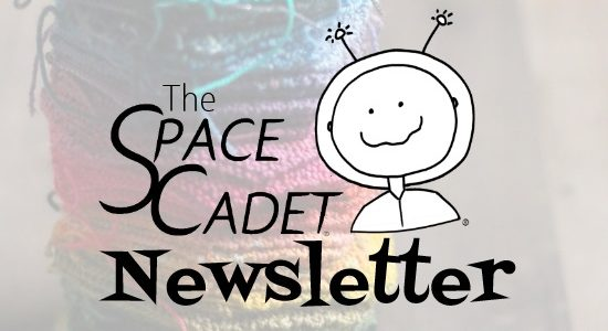SpaceCadet Newsletter: a Yarn & Pattern Giveaway!